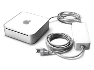 Mac mini with power supply